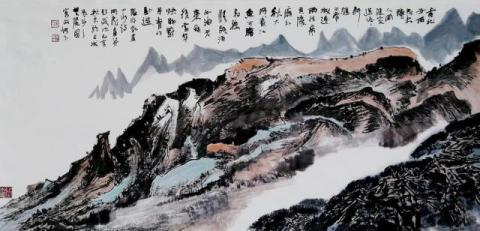 湖南书画名人此奢侈:覃明德